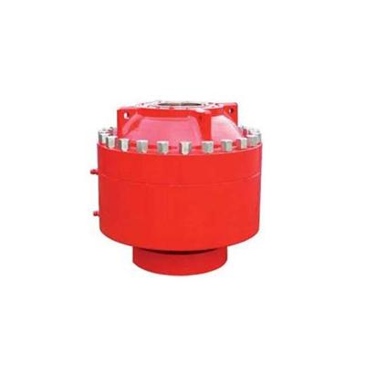 Annular blowout preventer with spherical rubber